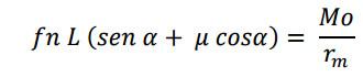 formula calculo