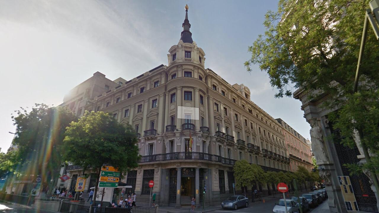 Edificio CNMV Madrid Calle Alcalá