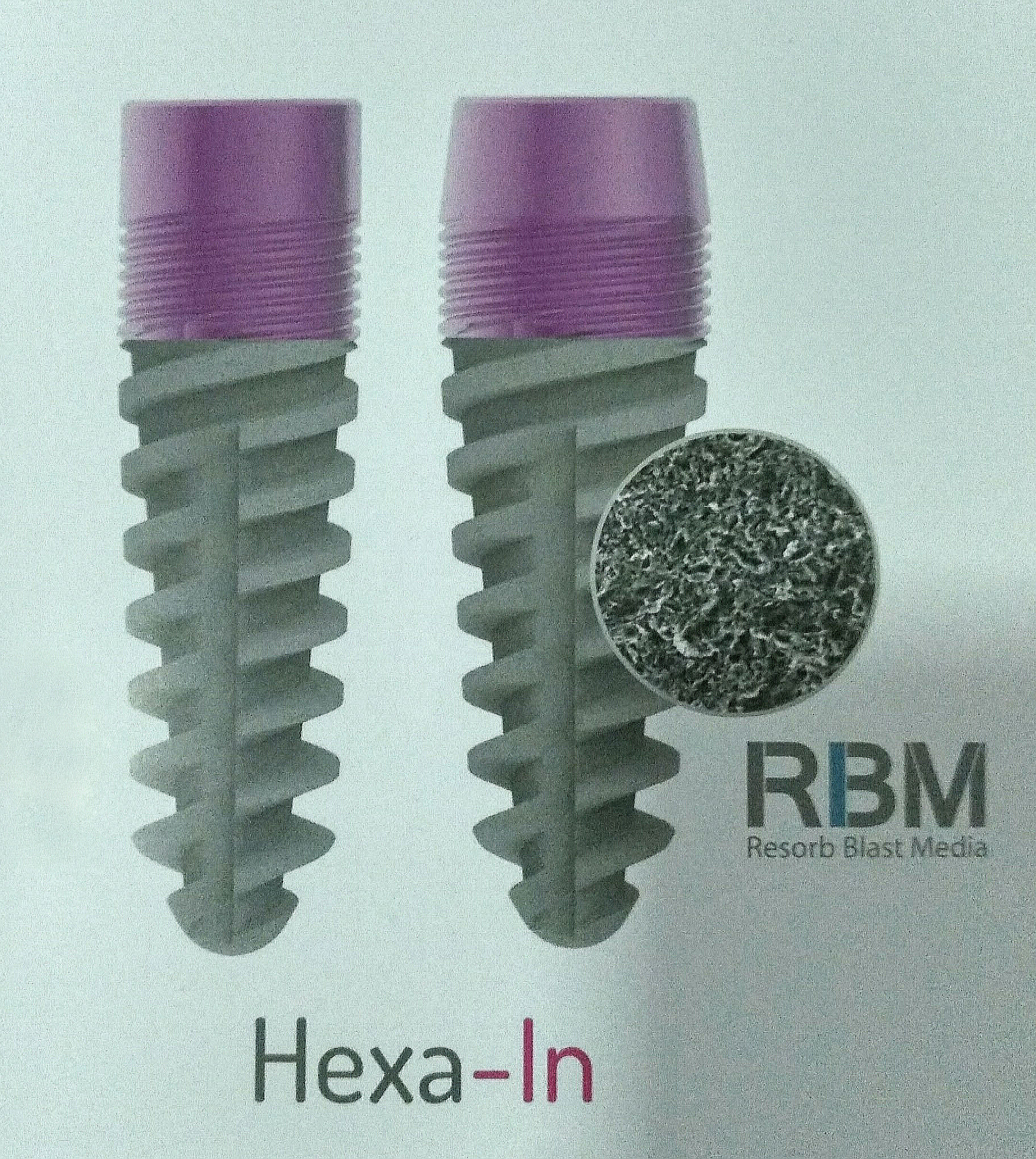 Implante dental PIFER con tratamiento RBM
